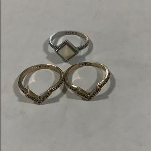 C+I Chloe and Isabel size 8 rings 3